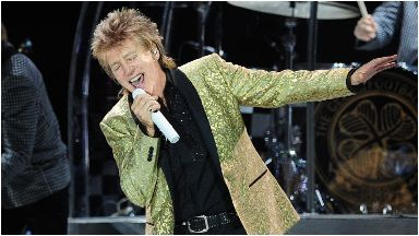 Rod Stewart: His first UK dates in three years. Aberdeen