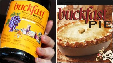 Buckfast pie