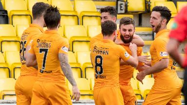 Lawless made the difference against Accies.