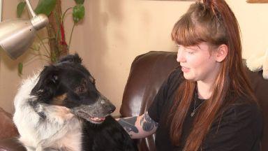 Rebecca Taylor and dog Sadie September 2018