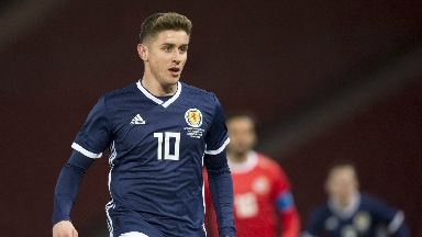Called-up: Tom Cairney has played twice for Scotland in friendlies.
