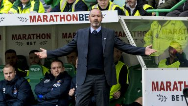"Frustrated: Steve Clarke says he is not on a ""crusade"" against officials."
