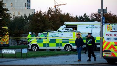 Scottish Gas: Suspected chemical incident.