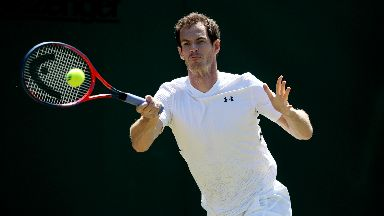 Recovery: Murray is to focus on training for the rest of the tennis season.