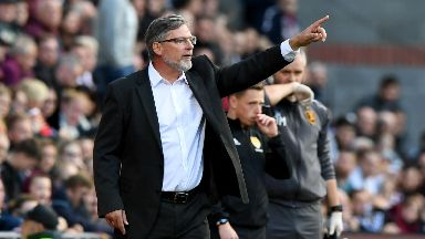 Frustrated: Craig Levein saw Hearts' win streak come to an end against Livingston.