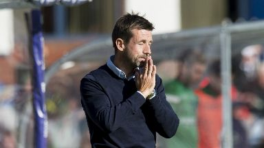 Pressure: Dundee are rock bottom.