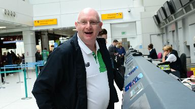 Return: John McGlynn is returning to Raith Rovers after leaving Celtic.