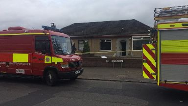 Fire: On Paisley Road.