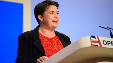 Ruth Davidson Conservative party conference Birmingham October 1 2018.