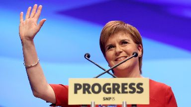 SNP: Party conference last year.