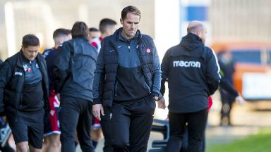 Sacked: Alan Archibald has been sacked by Partick Thistle after losing to Ross County.