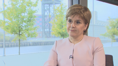 Nicola Sturgeon interviewed by STV News October 8 2018 10/08/18