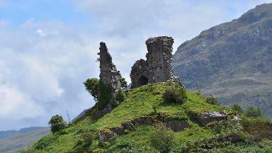 Castle Moil or Caisteal Maol, Skye taken in 2017