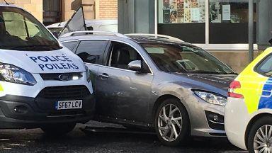 Tollcross police stop october 2018