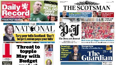 Front pages: October 11
