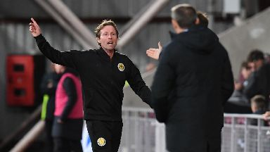 Scot Gemmill watched his side lose 2-0.