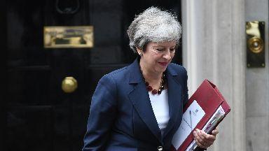 Theresa May October 17 2018.