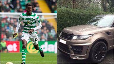 Dedryck Boyata: His Range Rover was stolen. Celtic Lenzie