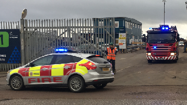 Explosion: Emergency services called to the scene.