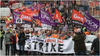 Glasgow strike