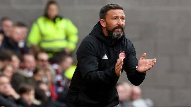 Ready: McInnes says Dons can beat Rangers.