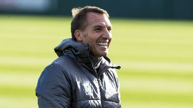 Anticipation: Rodgers is looking forward to facing Hearts.