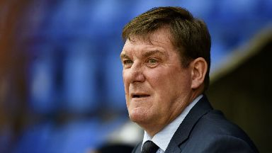 Pleased: Tommy Wright was happy with St Johnstone's second-half showing against St Mirren.