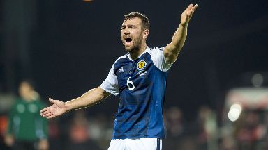 Decision: McArthur has retired from Scotland.