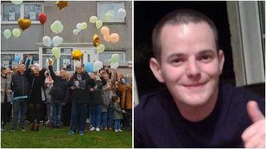 Allan Bryant balloon release