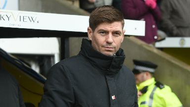 Unhappy: Gerrard says Candeias did nothing to earn card.