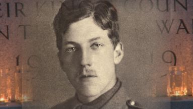 Charles Hamilton Sorley, famous World War One poet from Aberdeen