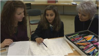 Novel: The project aims to improve migrant pupils language skills