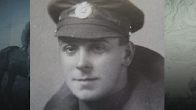 Lance Corporal Robert Stephen from Aberdeen, diaries found in skip in Kent