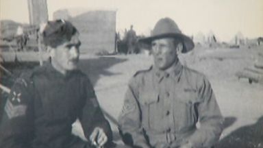 Half brothers Jasper and Duncan Stewart Fraser met while serving in Egypt.