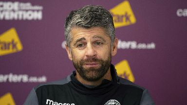 Run: Stephen Robinson is hoping to make it three wins in a row.
