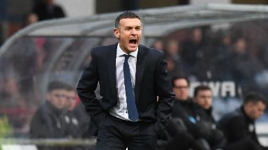 Frustrated: Jim McIntyre is still waiting for his first win as Dundee boss.