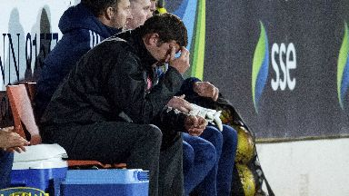 Sorry: Martin Canning apologised to Hamilton's support following his team's display.
