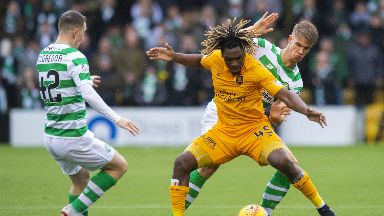 Stalemate: Livingston and Celtic couldn't be separated.