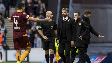 No excuses: Stephen Robinson refused to use Carl McHugh's red card as an excuse.