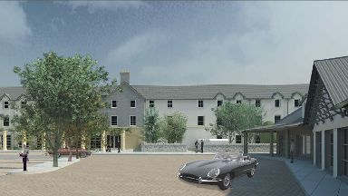 New hotel and retail village to be built near Tomatin in Highlands