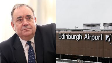 Alex Salmond: Airport staff have been questioned.