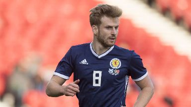 Stuart Armstrong has joined the Scotland squad.
