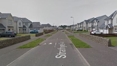 Dundee: Couple left shaken. Strathyre Avenue