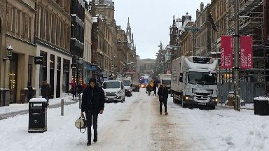 Snow: ;Beast from the east' disrupted work and travel across Scotland.