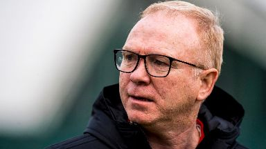 Alex McLeish: He has called for supporters to show up.