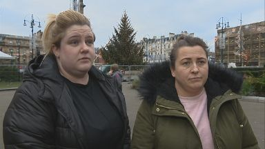 Parents Mary Taylor and Debbie Mullen angry about 2018 Glasgow light switch on
