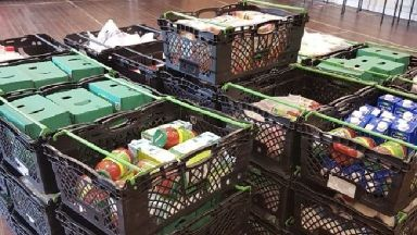 Food banks: Use rises by 17%.
