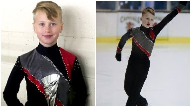 Jayden Orr of Inverclyde died of cardiac arrest while ice skating in 2017