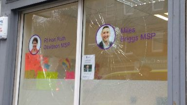 Ruth Davidson Window