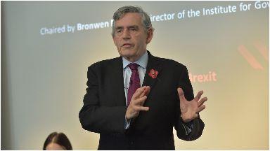 PA: Gordon Brown